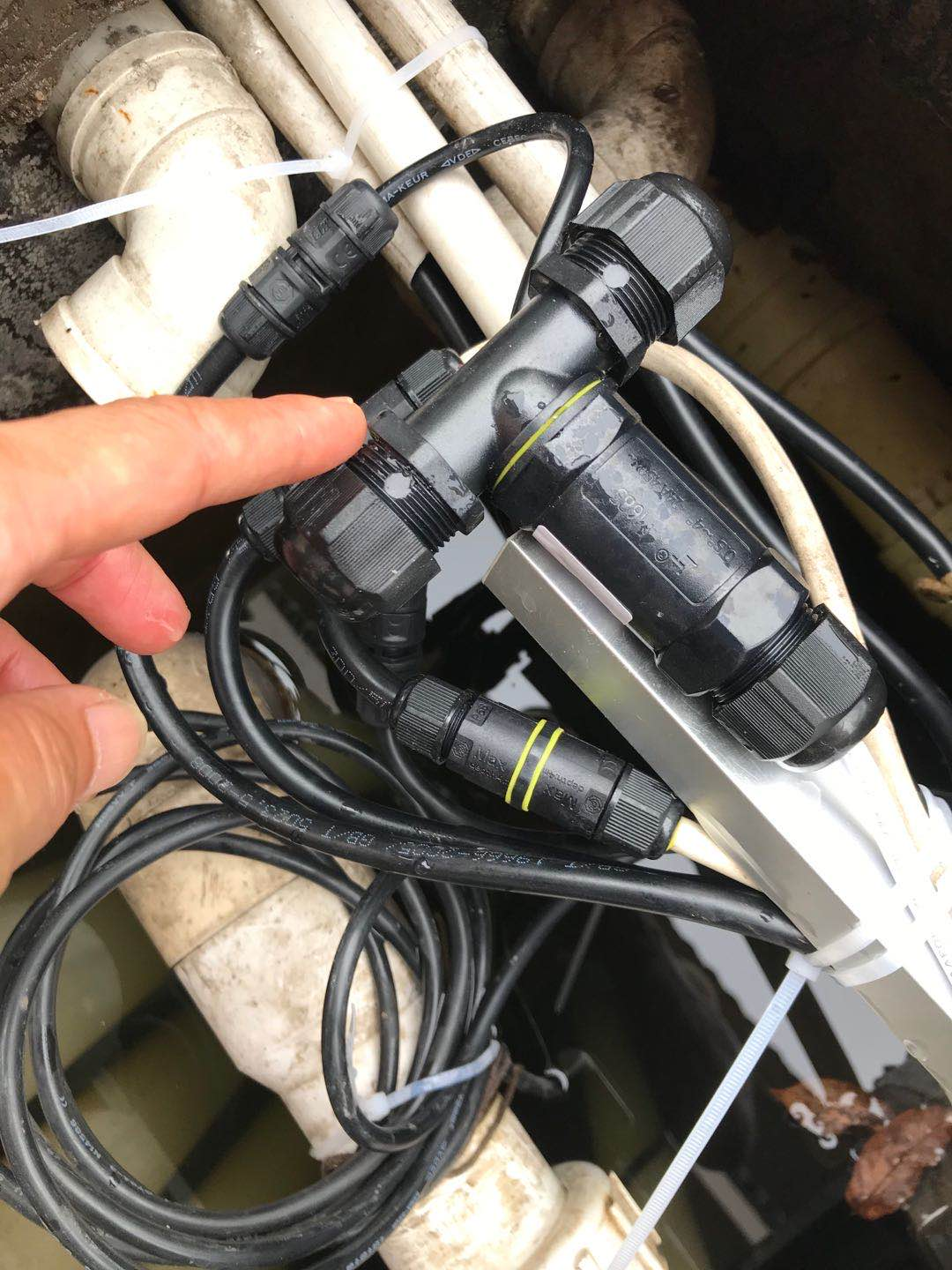 Where is waterproof connector use?