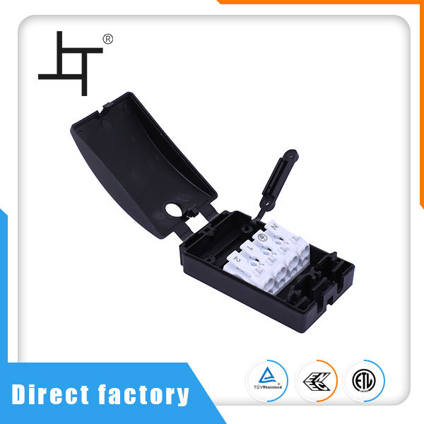 4 Way Electrical Wire And Cable Junction Box