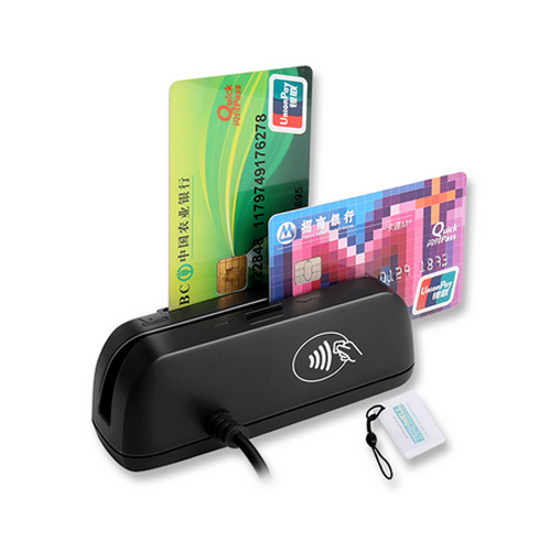 Combo Magnetic IC Chip RFID Card Reader Writer