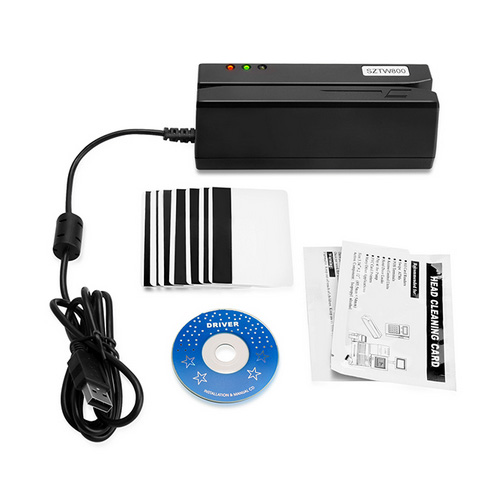 All 3 Tracks Hico Magnetic Card Reader Writer Encoder