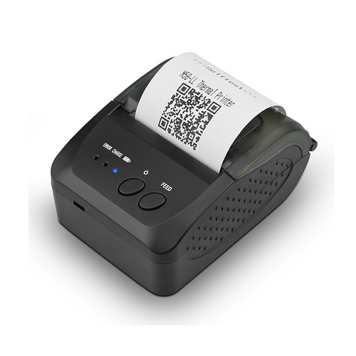 Durable 58mm Handheld Bluetooth Thermal Printer