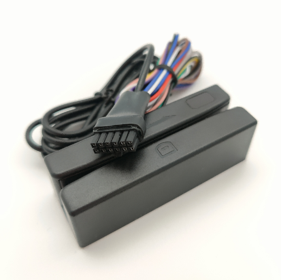 RS232 12pin connector Hico Magnetic Stripe Card Reader For GPS Tracker