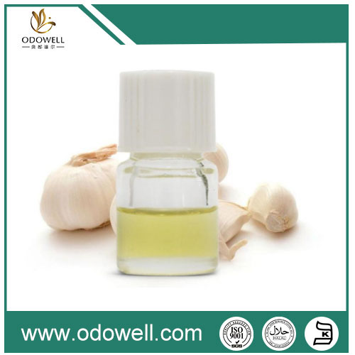 Application of garlic oil