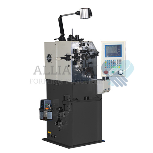 SC-208 0.08-0.8mm cnc 2 axis spring coiling machine