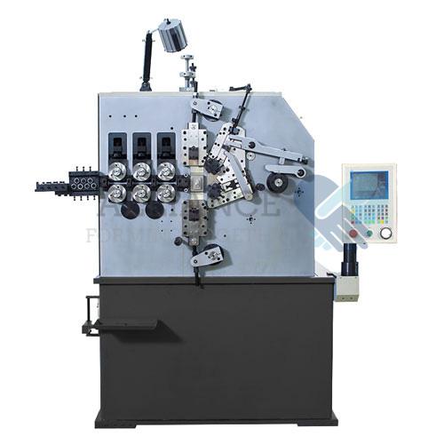 دستگاه سیم کشی فنر SC-250 2.0-5.0mm cnc 2 محور