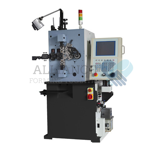 SC-416 0.4-1.6mm cnc 4 axis spring coiling machine