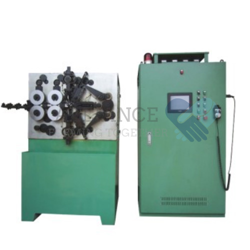 SC-450 1.0-5.0mm cnc 4 ejes máquina de bobinado de muelles