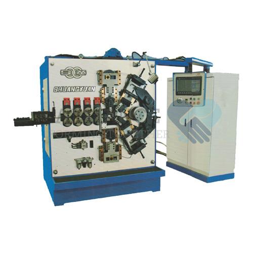 SC-580 3.0-8.0mm cnc 5 축 스프링 코일 링 기계