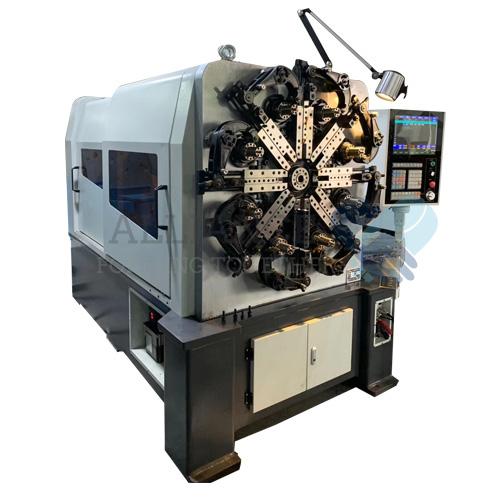 WF-535R 0,8-3,5 mm 4-6 assi CNC macchina per la formatura di fili rotanti a filo di camma