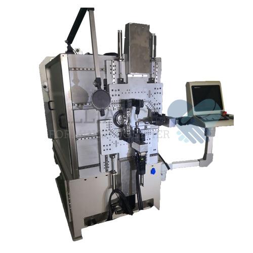 WF-923R 0.3-2.3mm 9 축 CNC 멀티 슬라이드 와이어 회전 와이어 성형 기계