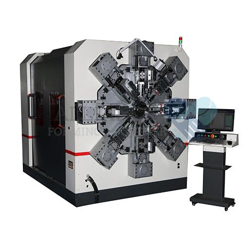 WF-1280R 3.0-8.0mm 12-14 محور سیم بی سیم CNC بدون سیم چرخش دستگاه تشکیل دهنده