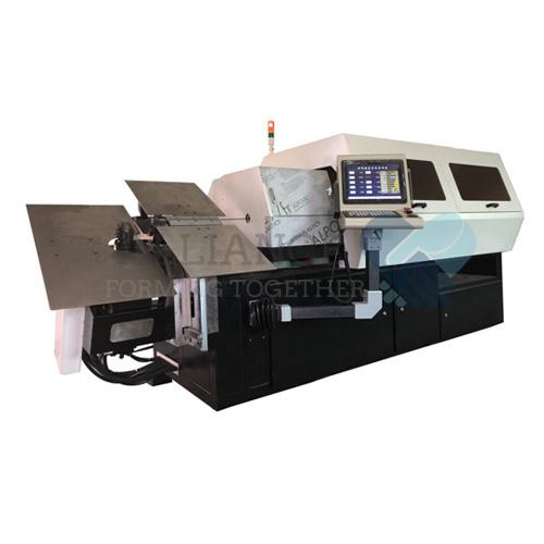 Piegatrice WB-3D706 1.8-6.0mm 7 assi 3D CNC filo rotante a filo rotante