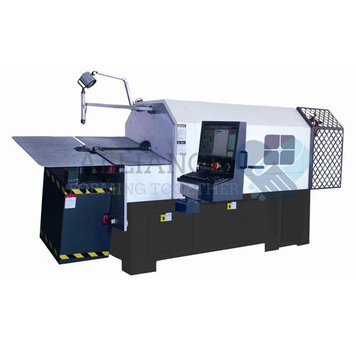 Принцип на работа 3D машина за огъване на тел