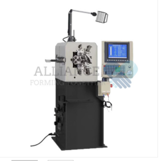 Industrial application of axis spring coiling machine