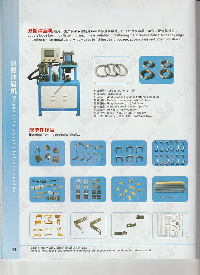 Máquina formadora de cadenas 017