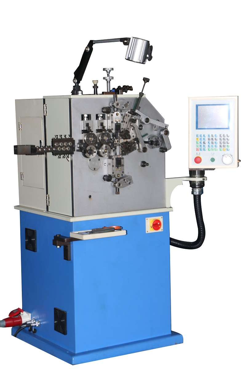 SC-216 0.4-1.6mm cnc 2 axis spring coiling machine