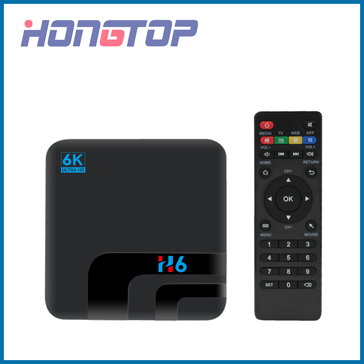 H6 Android 8.1 TV Box