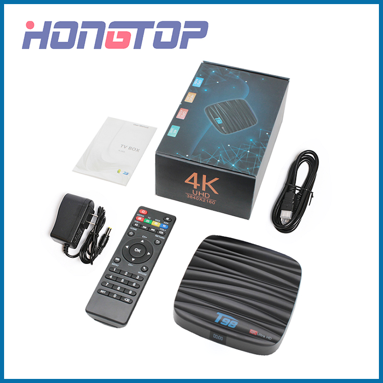 T98 4K Ultra HD Android TV Box