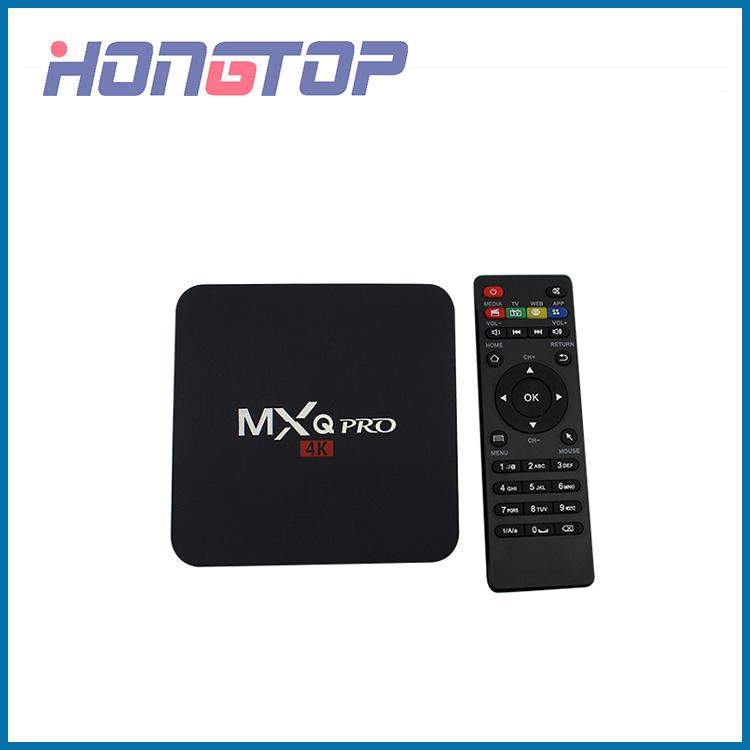 Boîtier TV Android MXQ-PRO S905W