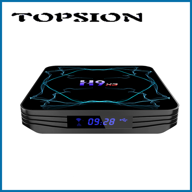 TOPSION H9X3 8K Android-TV kast