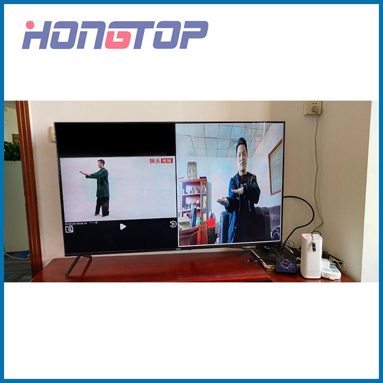 Boîte Android TV à double écran