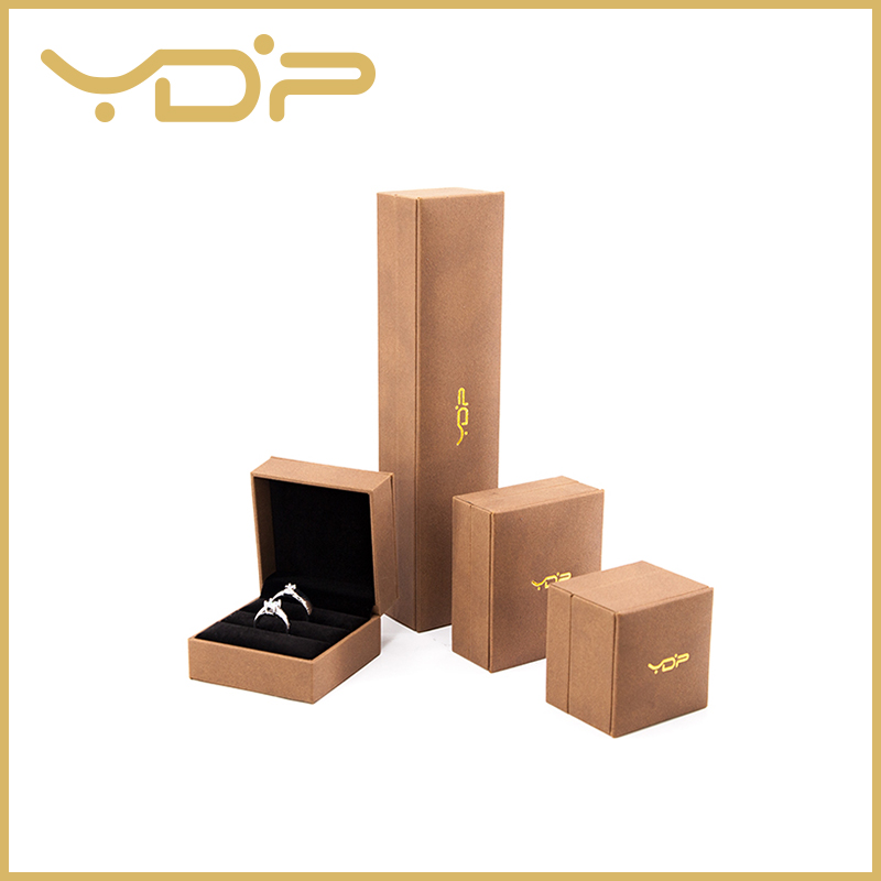 Leatherette Paper Jewelry Gift Box
