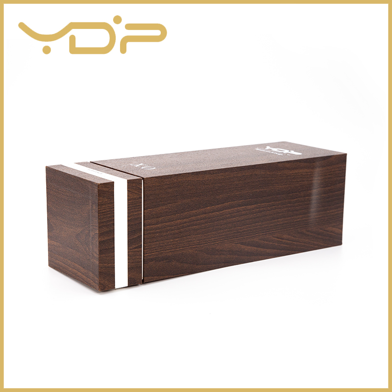 Wooden Texture Paper Display Cardboard Wine Box