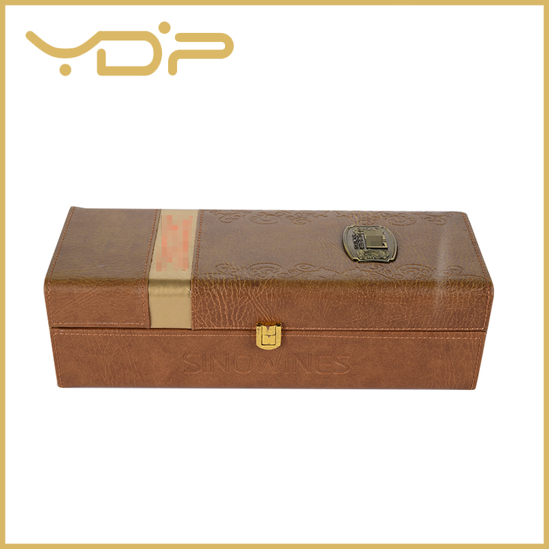 Luxury Leather Wine Packaging Box