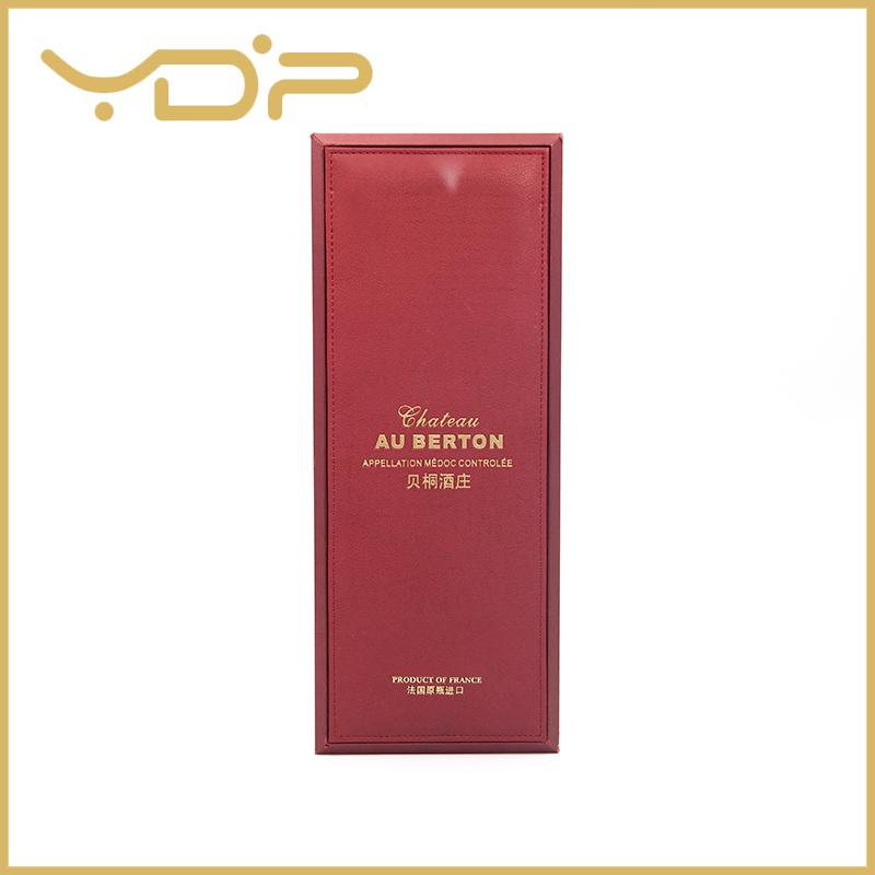 PU Leather Whisky Box