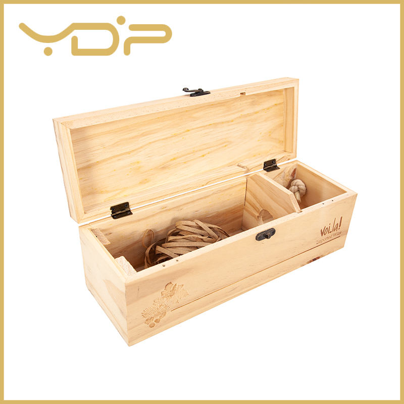 Pine Wood Wine Box