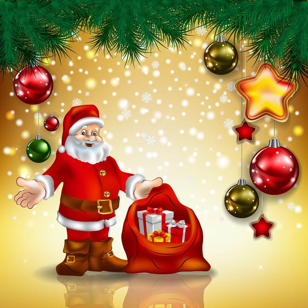 Желим вам Божић срећног времена и Нову годину срећних дана.