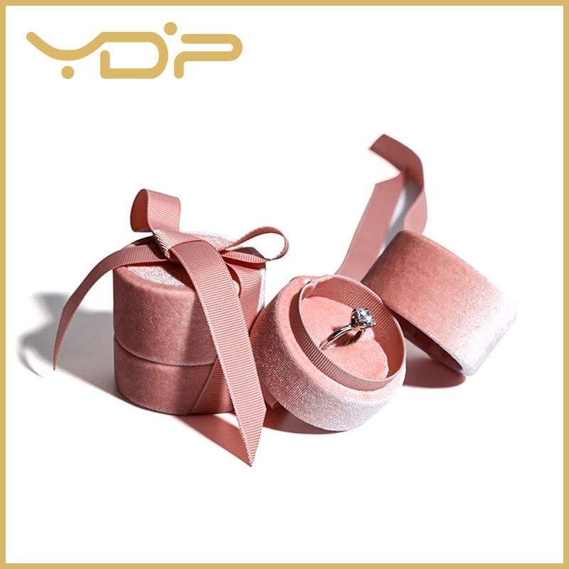 Velvet Box Round Box Ring Box