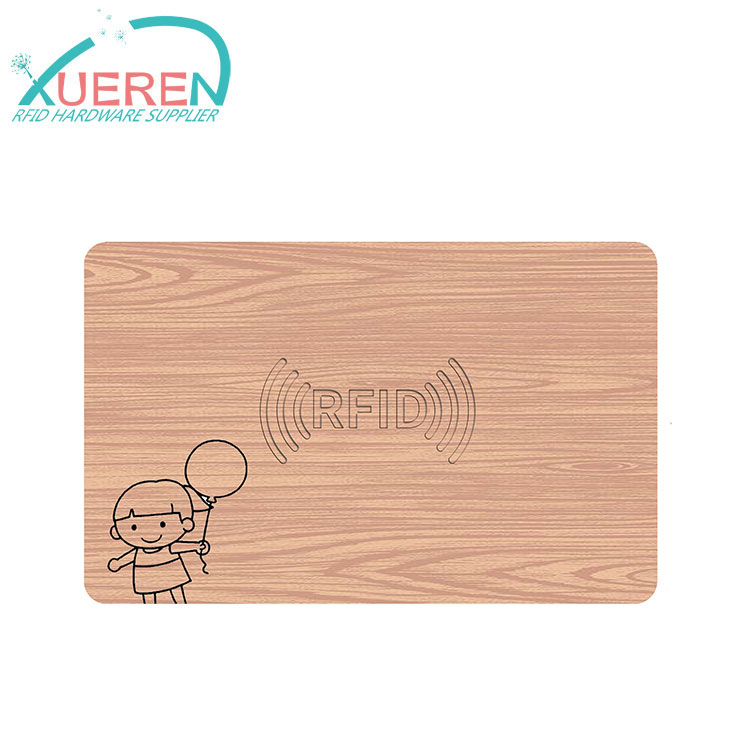 Etch logo 13.56Mhz NFC and RFID Card