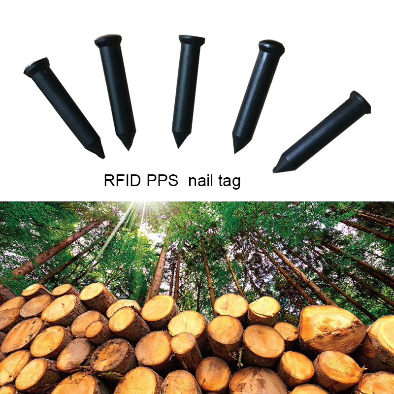 PPS NFC Nail Tag For Trees & Wood Identification and tracking