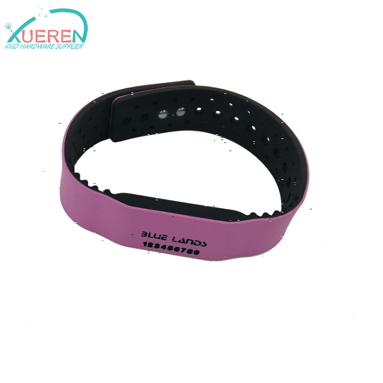 RFID silicone wristband for theme park