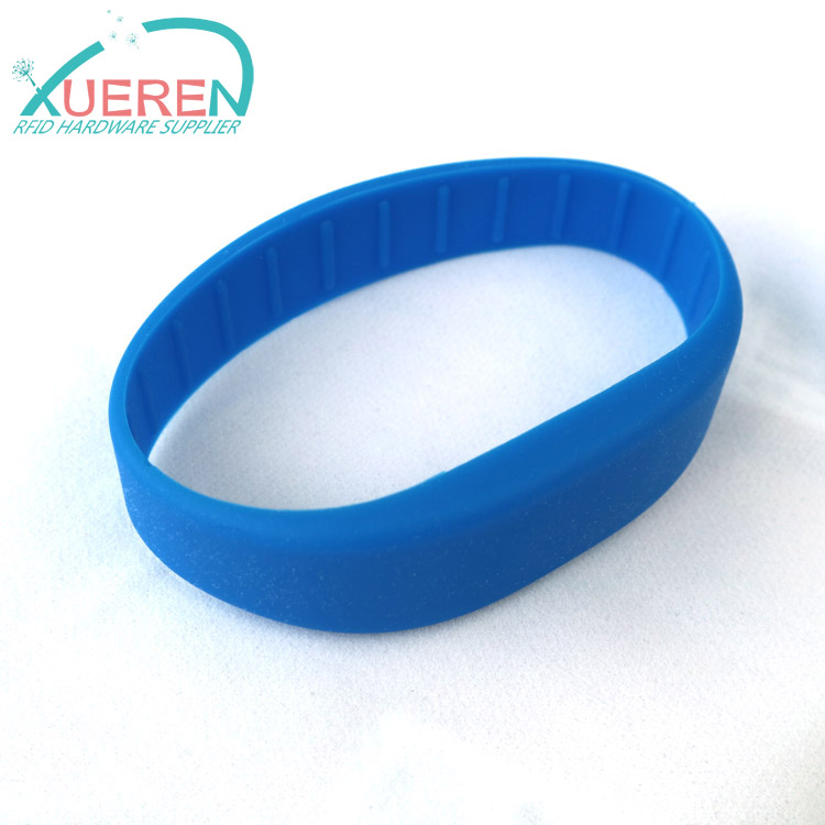 UHF RFID silicone wristband for events