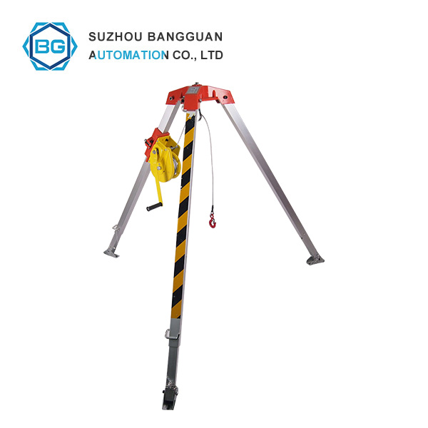 How to install rescue tripod