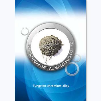 Aleación de tungsteno-cromo