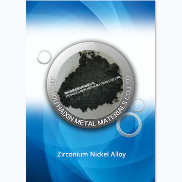 ZrNi Zirconium Nickel Alloy