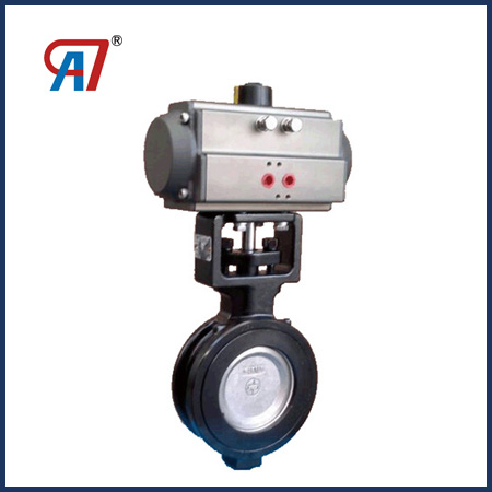 Pneumatic High Performance Double Eccentric Butterfly Valve