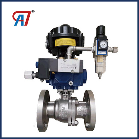 Pneumatic O-type Floating Ball Valve