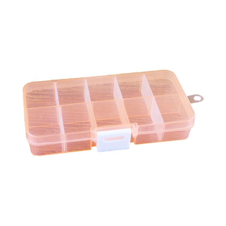 Plastic Earring Storage Box