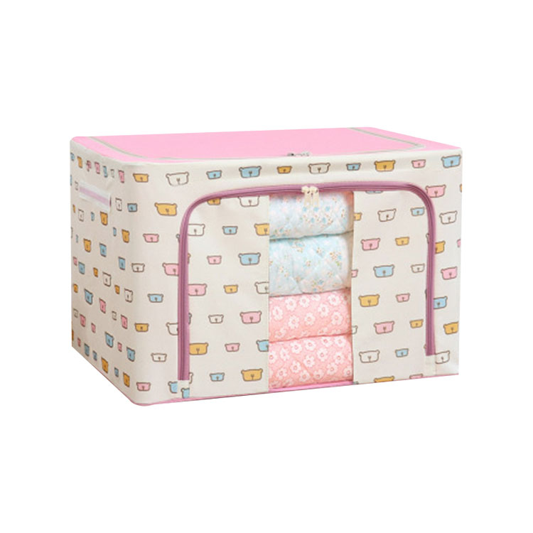 Storage Cabinets Cloth Box With Lid