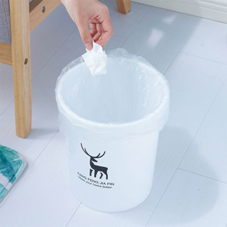 Study Without Lid Trash Can Plastic Kitchen Dustbin