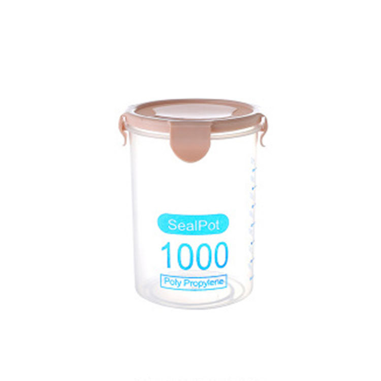 Plastic Grade Food Box Storage Jars
