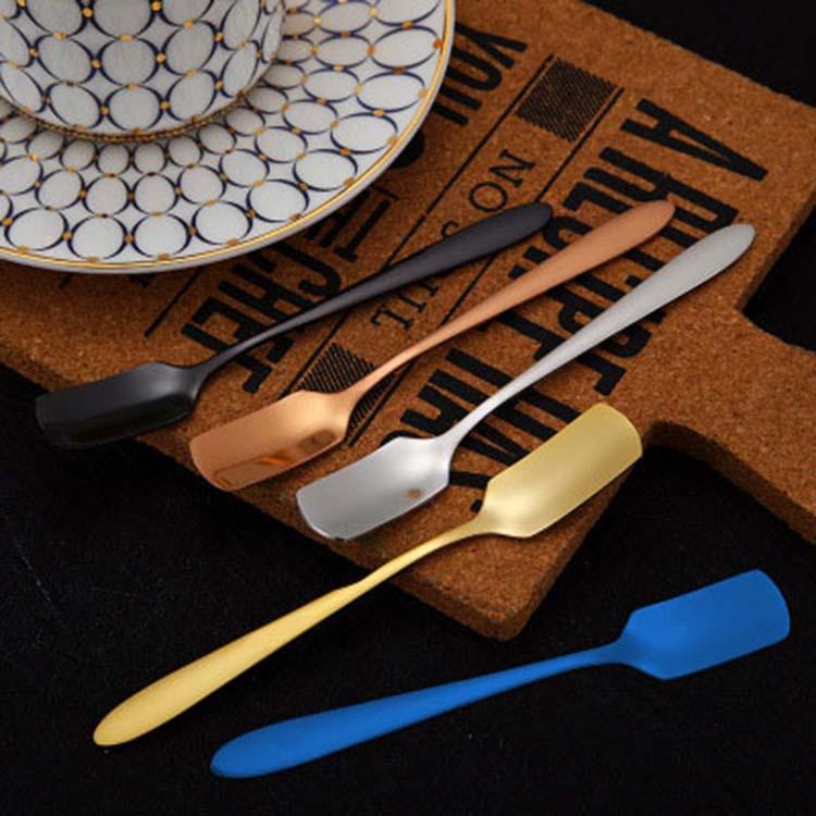 Stainless Steel Dessert Spoon Fork Set