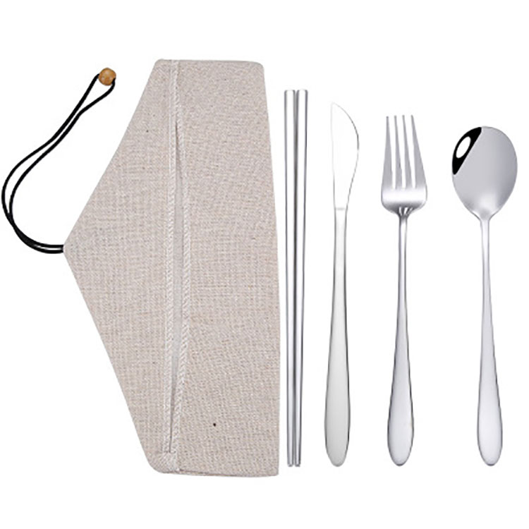 Tableware Four-piece Stainless Steel Set