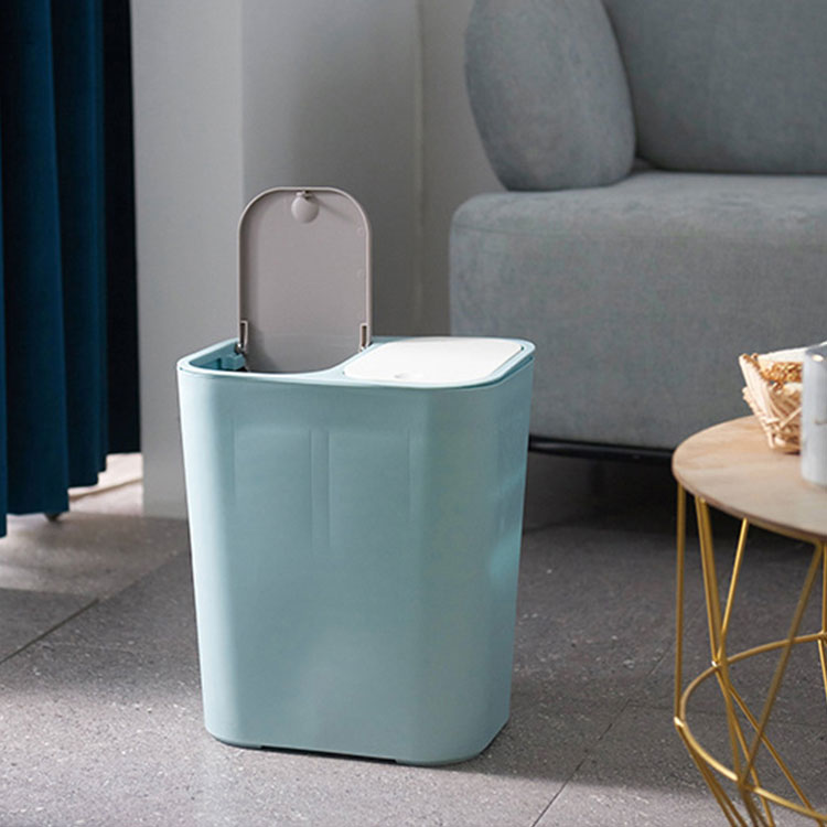 Home Trash Can Room Plastic Dustbin