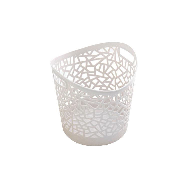 Home Bathroom Cloth Storage Plastic Laundry Basket