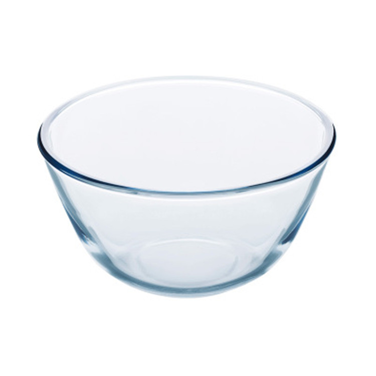 Household Heat Resistant Glass Transparent Egg Beating Noodle Baking Cooking Bowl